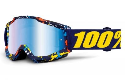 masque 100 accuri pollok bleu ecran mirror bleu