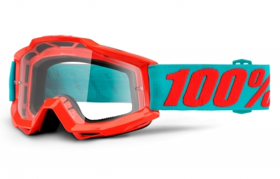 masque 100 accuri passion orange ecran transparent