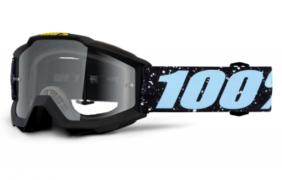 masque enfant 100 accuri milkyway noir ecran transparent
