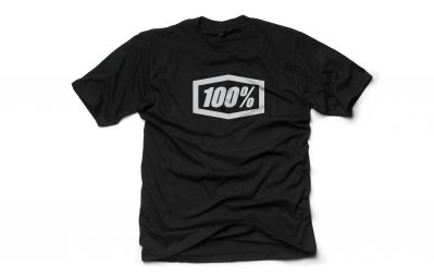 t shirt 100 essential noir