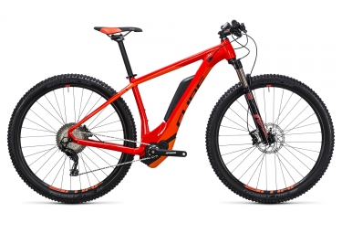 velo electrique 2017 cube reaction hybrid hpa sl 500 29 shimano xt m8000 11v orange