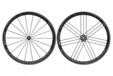 campagnolo paire de roues bora ultra 35 dark pneu corps shimano sram