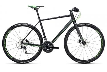 velo urbain 2017 cube sl road race shimano 105 11v noir vert