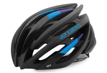 casque giro aeon noir bleu violet