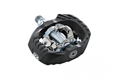 shimano paire de pedales pd m647 dx noir