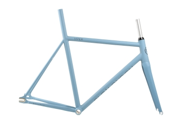 cadre avec fourche blb viper bleu