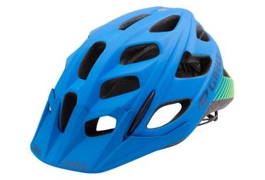 casque giro hex bleu jaune matte