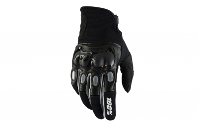 gants longs 100 derestricted noir
