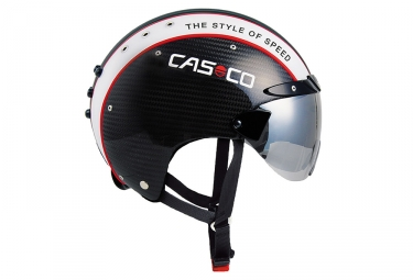 casque aero casco warp sprint carbone noir