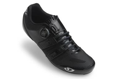 paire de chaussures route giro sentrie techlace noir