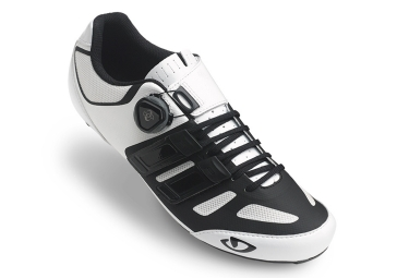 paire de chaussures route giro sentrie techlace blanc
