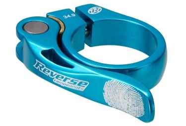 reverse collier de selle long life diametre 34 9 mm bleu