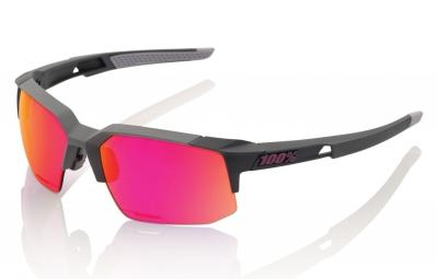 lunettes 100 speedcoupe ll gris ecran violet iridium