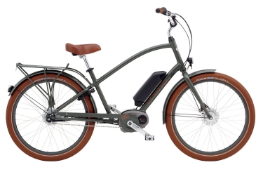 velo complet femme electra townie go 8i army gris