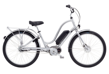 velo complet femme electra townie go 8i argent