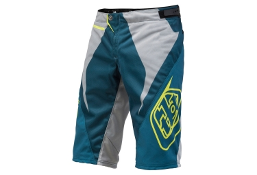 troy lee designs 2016 short enfant sprint reflex bleu