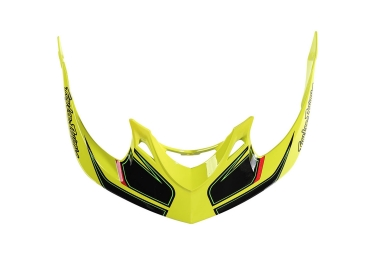 visiere troy lee designs a1 reflex jaune