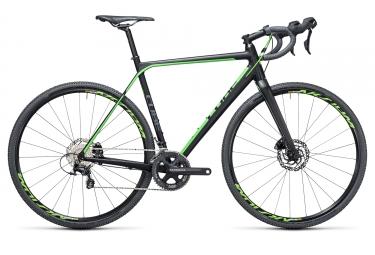 velo cyclocross 2017 cube cross race sl shimano ultegra 11v noir vert