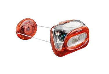 lampe frontale petzl zipka rouge