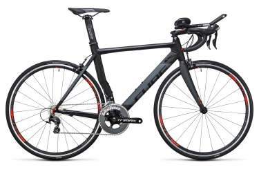 velo triathlon 2017 cube aerium hpa pro shimano ultegra 11v noir gris