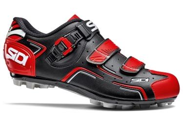 chaussures vtt sidi buvel noir rouge
