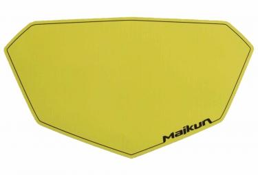 fond de plaque maikun 3d pro jaune