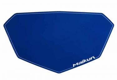 fond de plaque maikun 3d mini bleu