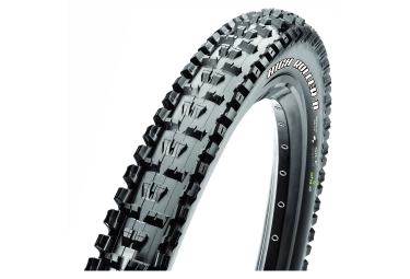 pneu maxxis high roller ii 27 5 tubetype souple single silkshield e bike noir
