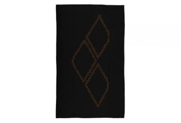 serviette de bain arena halo noir