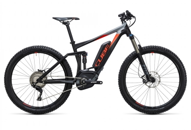 velo electrique 2017 cube stereo hybrid 140 hpa pro 500 27 5 boost shimano xt 11v no