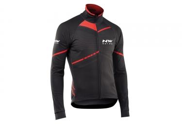 veste manches longues northwave blade noir rouge