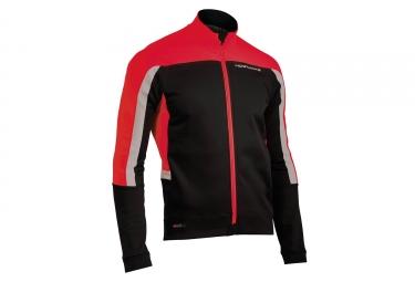 veste avec membrane northwave sonic rouge noir