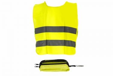 gilet de securite enfant gnk 6 12 ans avec trousse jaune