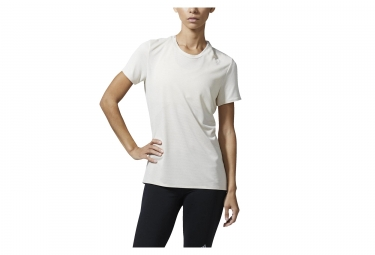 adidas running maillot manches courtes femme supernova beige