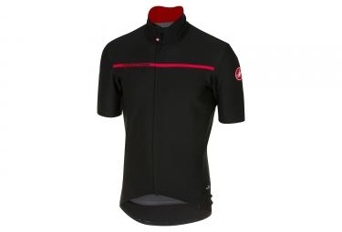 maillot manches courtes castelli gabba 3 noir rouge