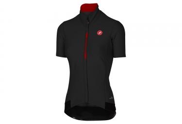 maillot manches courtes femme castelli gabba 2 noir rouge