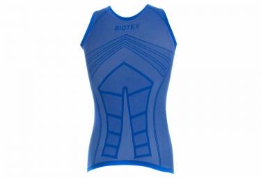 maillot sans manches biotex ultralight bleu