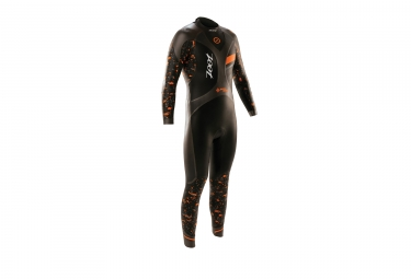 combinaison neoprene zoot wave 3 noir orange