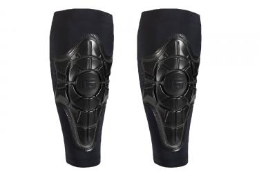 proteges tibia g form pro x shin pads noir gris