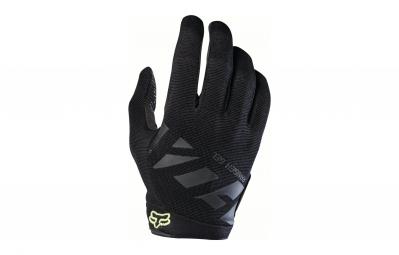 gants longs fox ranger gel noir