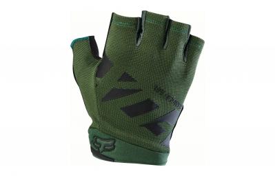gants courts fox ranger gel vert