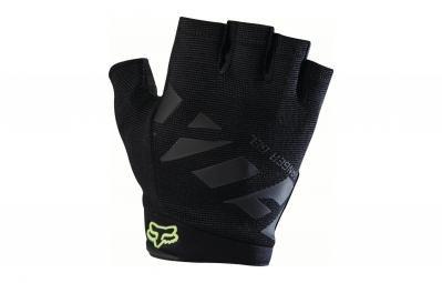 gants courts fox ranger gel noir