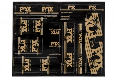 kit stickers fox racing shox heritage 2017 or
