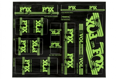 kit stickers fox racing shox heritage 2017 vert