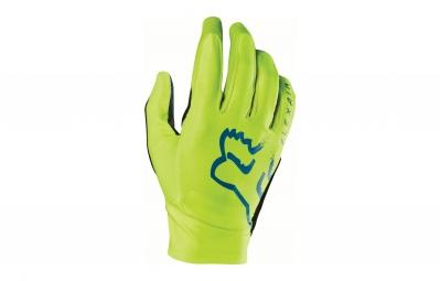 gants longs fox flexair jaune