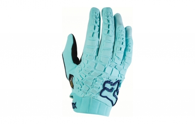 gants longs femme fox sidewinder bleu