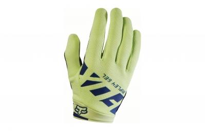 gants longs femme fox ripley gel vert