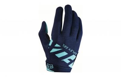 gants longs femme fox ripley gel bleu