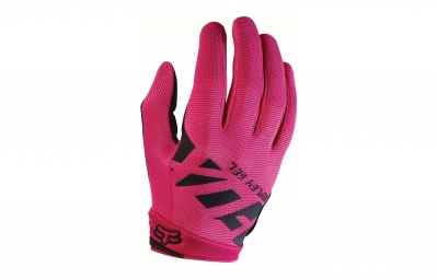 gants longs femme fox ripley gel rose