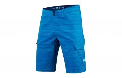 short avec peau fox ranger cargo print bleu